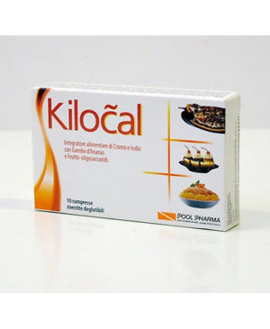 Pool Pharma Kilocal Integratore Alimentare 10 Compresse - Zfarmacia