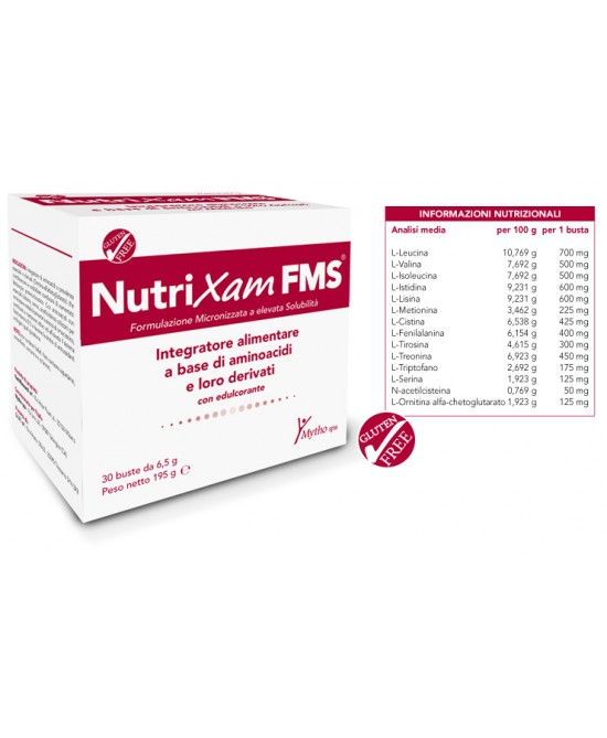 NutriXam FMS Integratore Alimentare 30 Bustine - Farmastar.it