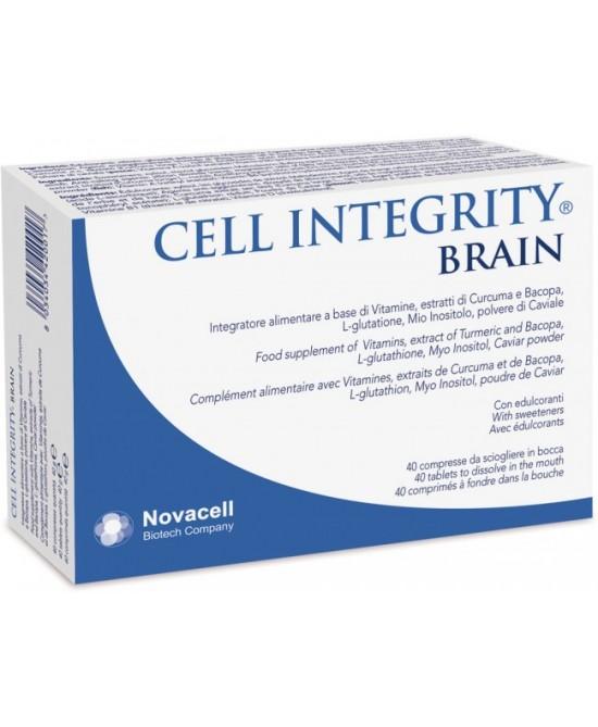 Novacell Cell Integrity Brain Integratore Alimentare 40 Compresse - Farmastar.it