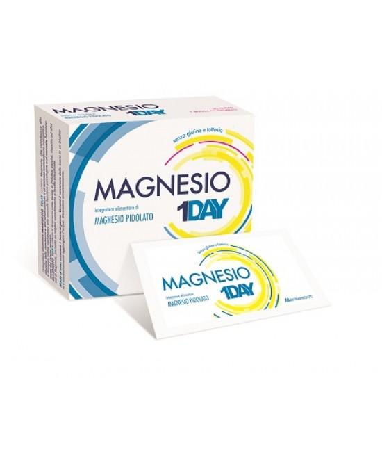 Magnesio 1Day Integratore Alimentare 20 Bustine - Zfarmacia