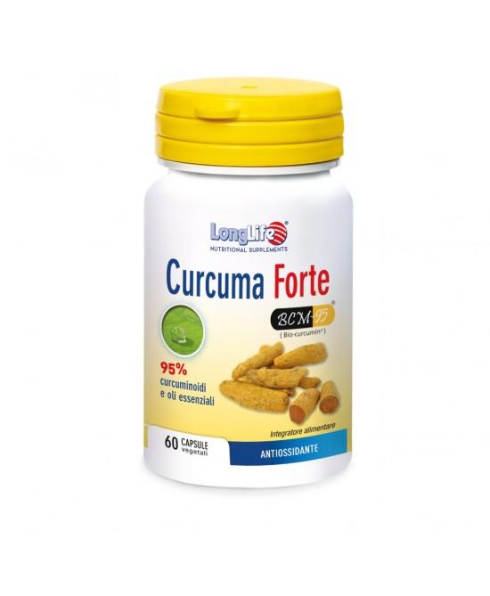 LONGLIFE CURCUMA FORTE 60CPS V prezzi bassi