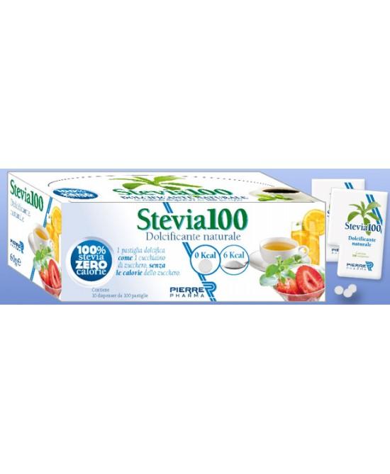 Stevia 100 Dolcificante Naturale 120Compresse