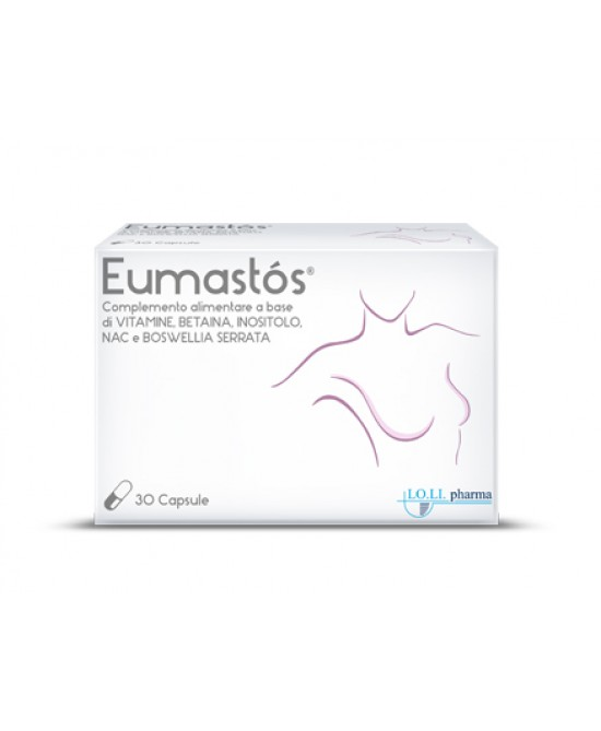 Lo.Li Pharma Eumastos Integratore Alimentare 30 Capsule - Farmastar.it