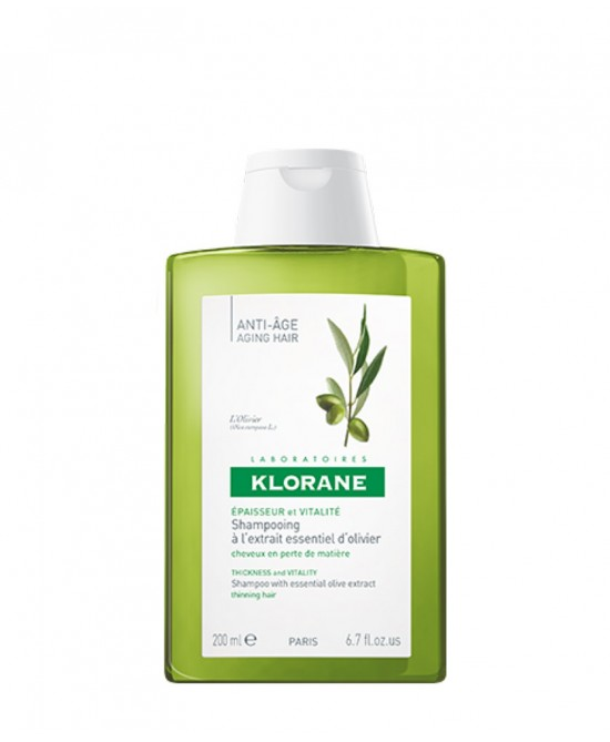 Klorane Shampoo All'Estratto Essenziale Di Ulivo 200ml - Farmabellezza.it
