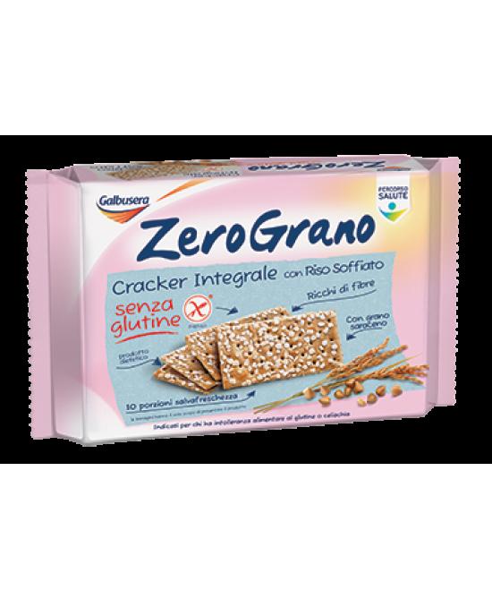 Zerograno Cracker Integrale Senza Glutine 360g - FARMAEMPORIO