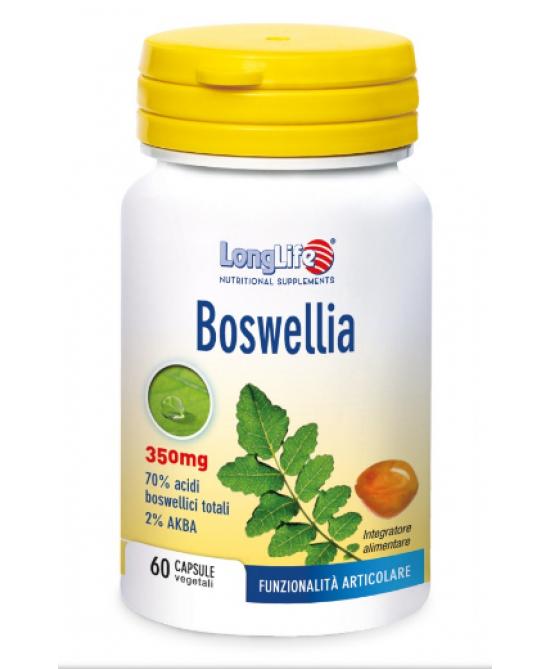 Longlife Boswellia Integratore Alimentare 60 Capsule Vegetali - Farmaciaempatica.it