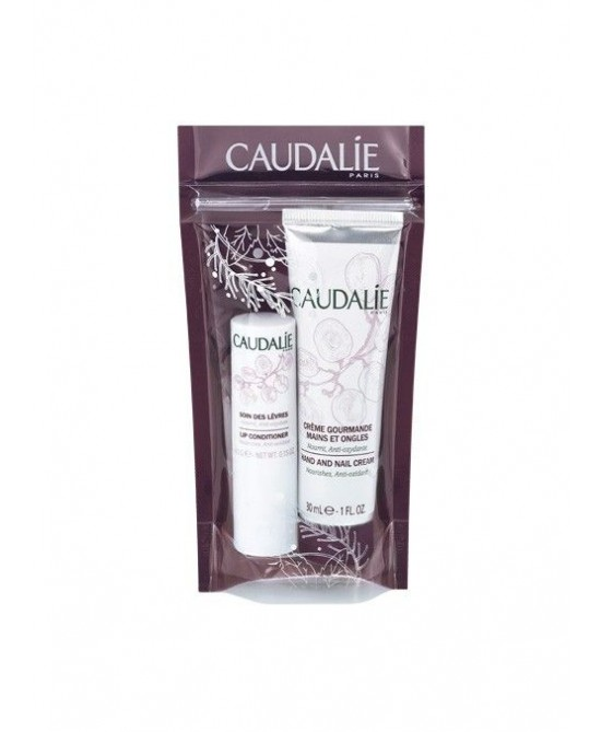 Caudalie Duo Inverno Crema Mani 30ml + Balsamo Labbra 4,5g - Farmastar.it