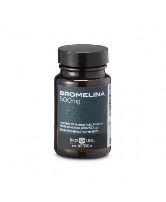 BiosLine Principium Bromelina Integratore Alimentare 30 Compresse - Farmafamily.it