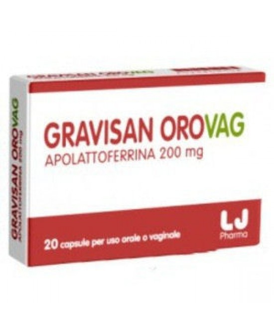 Gravisan Orovag Integratore Alimentare 20 Capsule