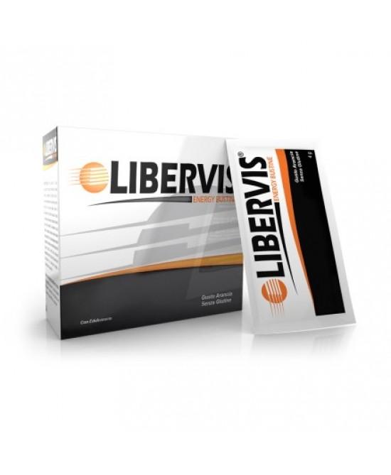 Libervis Energy Arancia Integratore Alimentare 20 Bustine - Zfarmacia