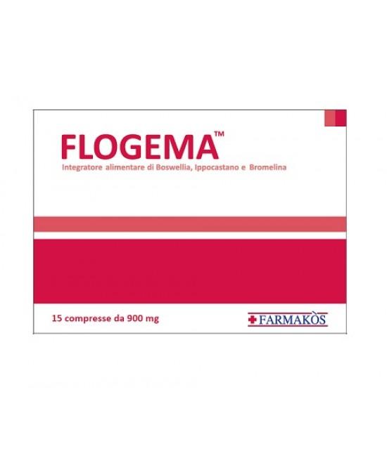 Flogema Integratore Alimentare 15 Compresse 900mg - Farmaunclick.it