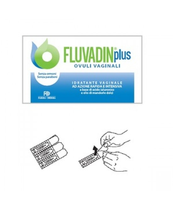 Fluvadin Plus Ovuli Vaginali 10 Pezzi - Farmastar.it