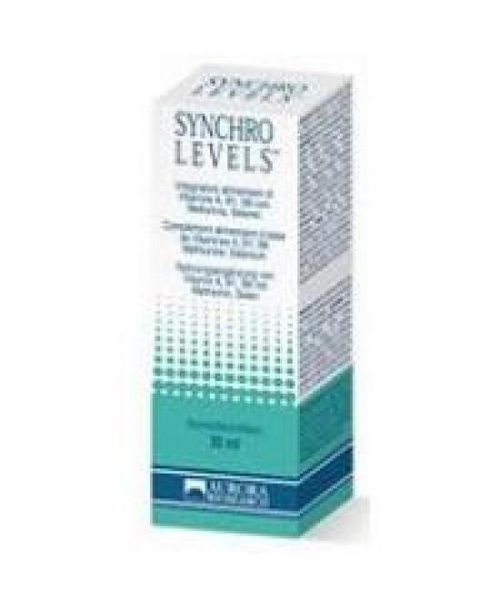 Synchro Levels Spray Integratore Alimentare 30ml - Zfarmacia
