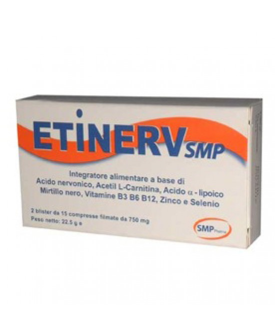 Smp Pharma Etinerv Integratore Alimentare 30 Compresse - farmaventura.it