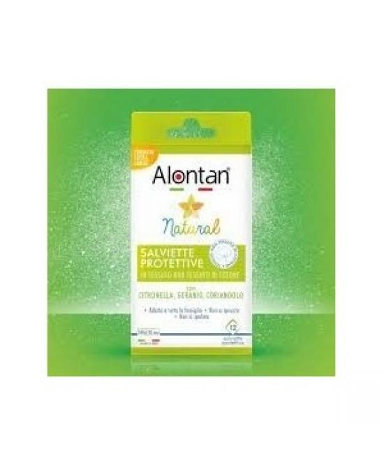Alontan Natural Salviette protettive 12 Pezzi - Farmabros.it