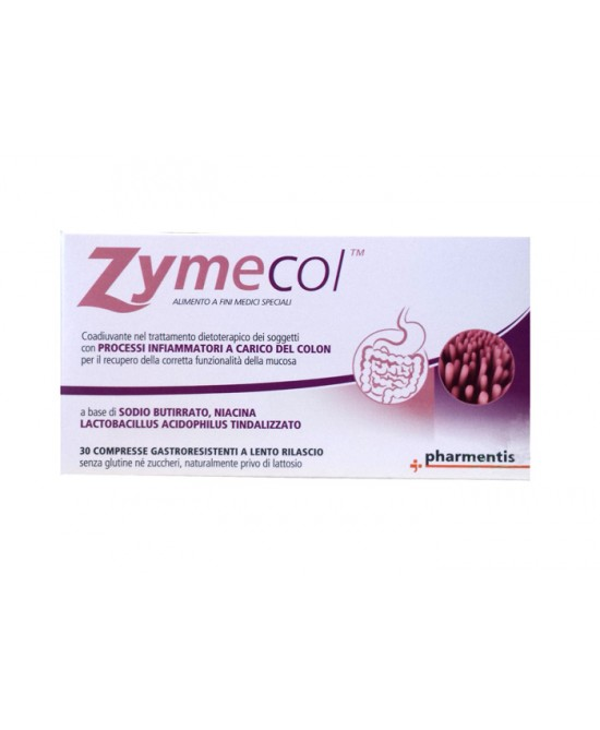 Pharmentis Zymecol Integratore Alimentare 30 Compresse - Spacefarma.it