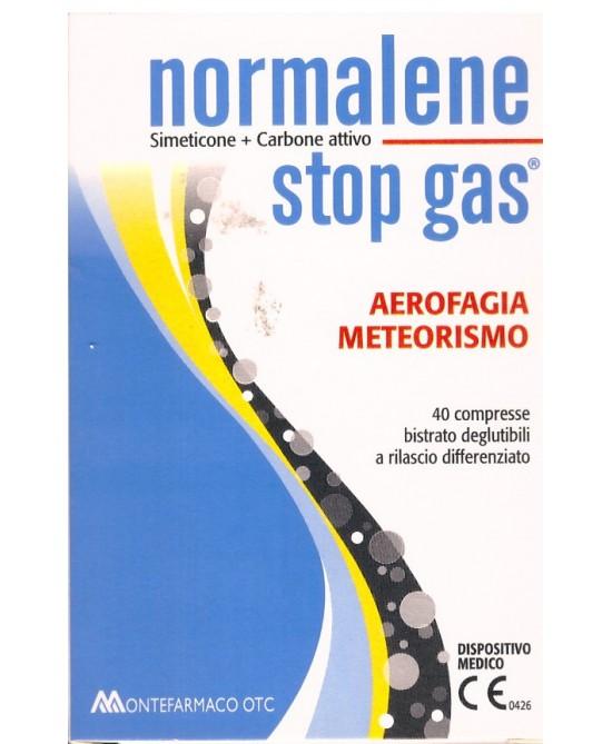 NORMALENE STOP GAS 40CPR prezzi bassi