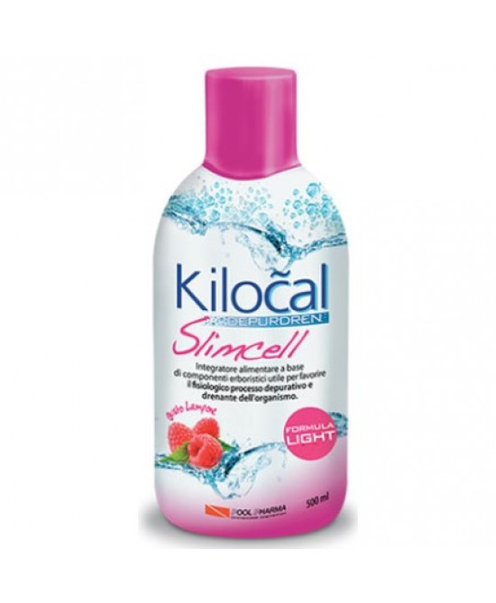 Kilocal Depurdren Slimcell Gusto Lampone 500 ml - latuafarmaciaonline.it