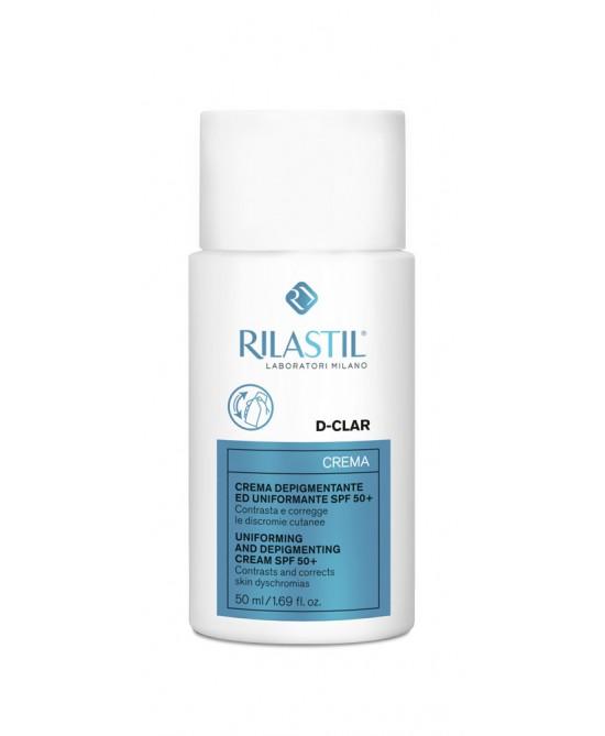 Rilastil D-Clar Crema Depigmentante Uniformante SPF50+ 50ml - Farmapage.it