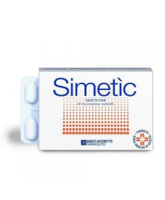 Simetic 120 Integratore Contro Gonfiore Intestinale 30 Compresse