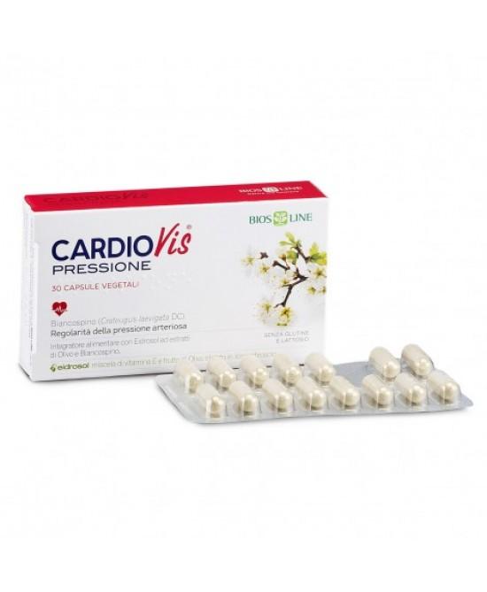 BiosLine CardioVis Pressione Integratore Alimentare 30 Capsule - Farmastar.it