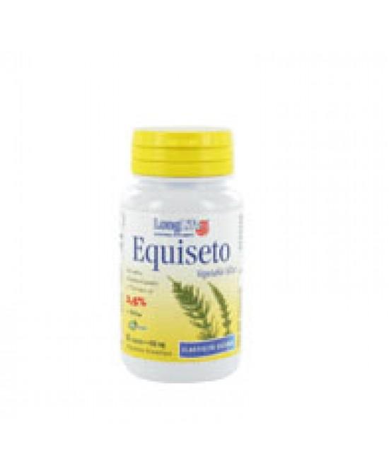 Longlife Equiseto 2,5% In Silice Integratore Alimentare 60 Capsule - Farmaciaempatica.it