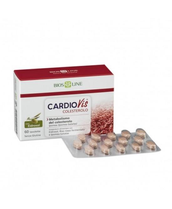 Cardiovis Colesterolo Integratore Alimentare 30 Capsule - FARMAPRIME