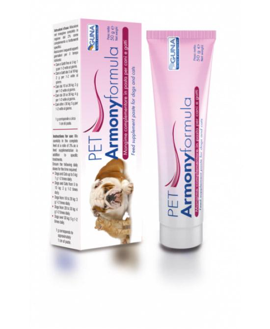 Guna PET Armonyformula Mangime Complementare (Pasta) 50g - Farmacistaclick