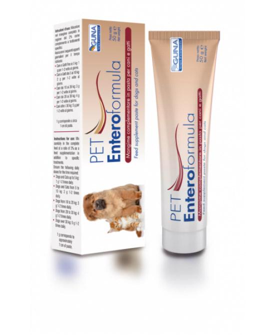 Guna PET Enteroformula Mangime Complementare (Pasta) 50g - Farmacistaclick