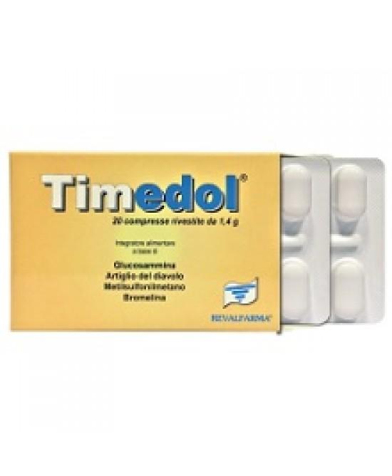 TIMEDOL 20CPR RIVESTITE prezzi bassi