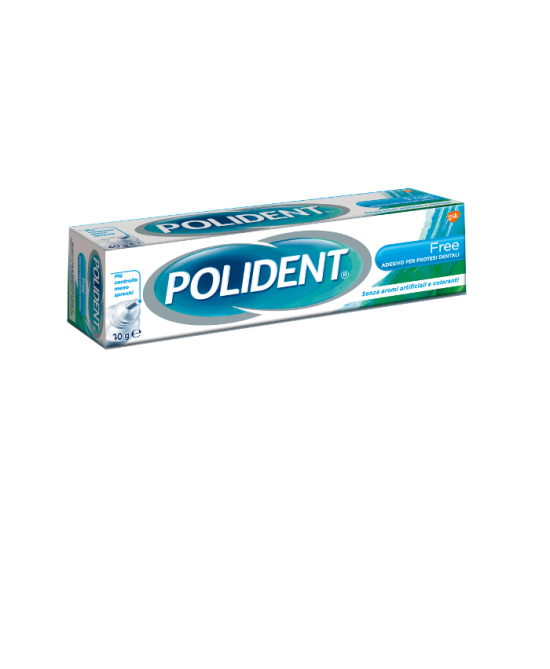 Polident Free Adesivo Per Protesi Dentali 70g - Farmaciasconti.it