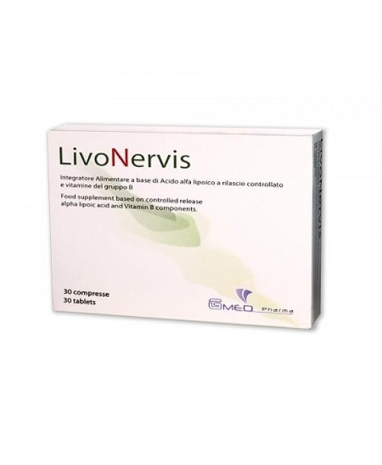 LivoNervis Integeatore Alimentare 30 Compresse