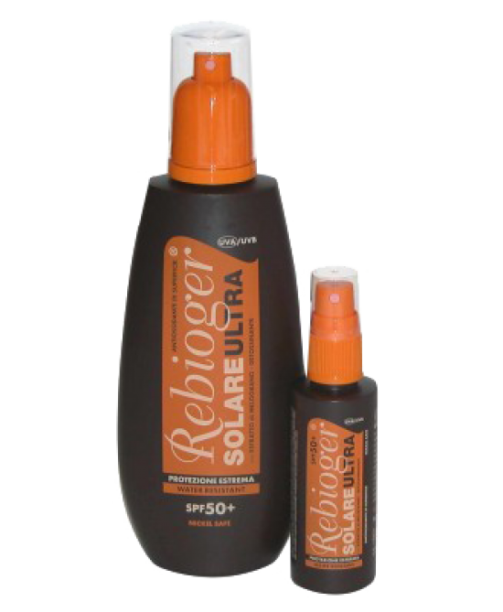 Rebioger Spray Solare Ultra SPF 50+ Protezione Corpo 50 ml