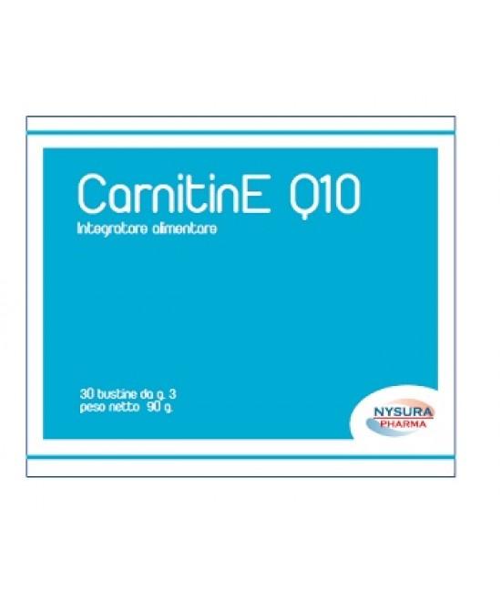 CarnitinE Q10 Integratore Nutrizionale 30 Bustine