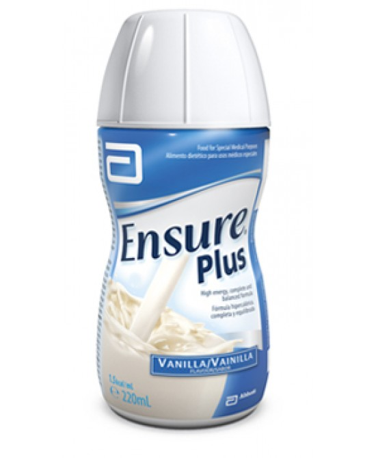 Ensure Plus Gusto Vaniglia Integratore Alimentare 4x200ml - Farmapc.it