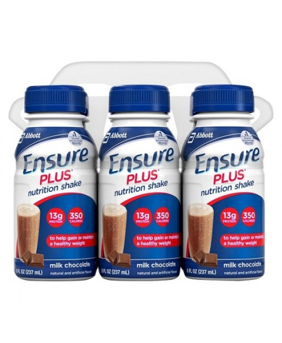Abbott Ensure Plus Gusto Cioccolato 4x237ml - Farmaunclick.it