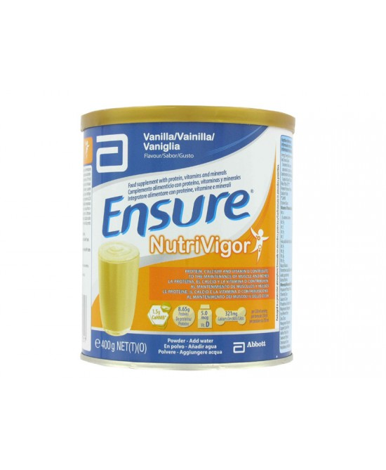 ENSURE NUTRIVIGOR VANIGLIA 400 G - Farmaunclick.it