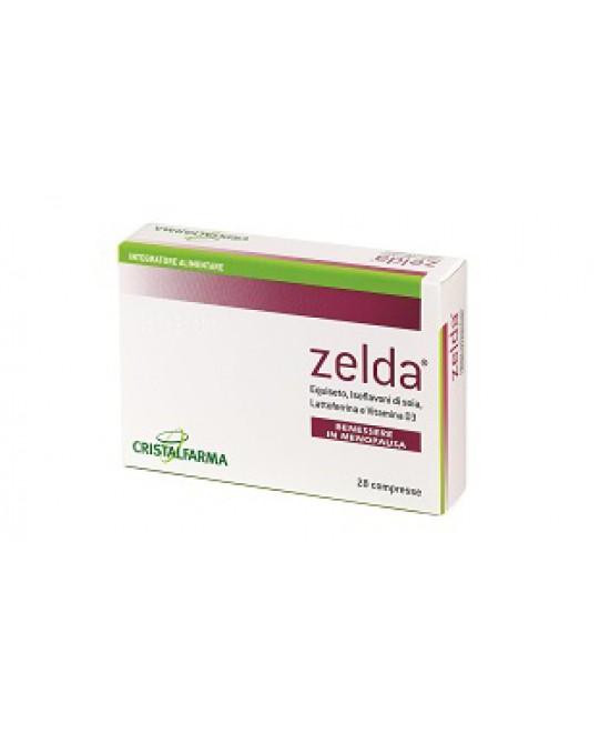 Cristalfarma Zelda Integratore Alimentare 28 Compresse - Farmabravo.it
