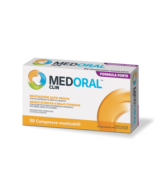 MEDORAL CLIN 30 COMPRESSE - Carafarmacia.it