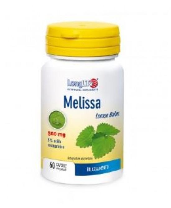 LongLife Melissa 500 mg Integratore 60 Capsule