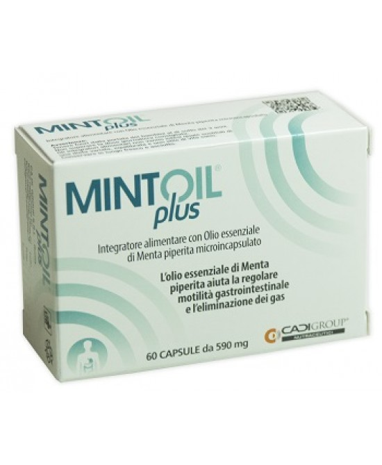 Mintoil Plus Integratore Intestinale 60 Capsule