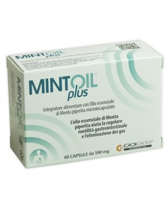 Mintoil Plus Integratore Alimentare 60 Capsule - Farmaci.me
