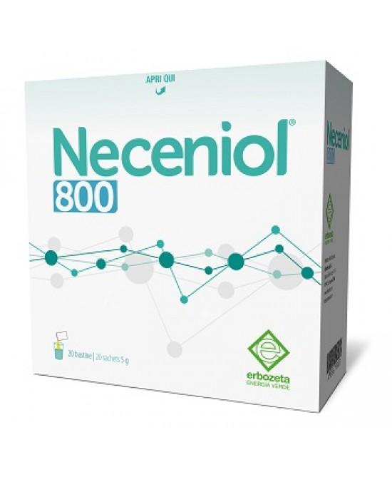 Erbozeta Neceniol 800 Integratore Alimentare 20 Bustine - Farmapc.it