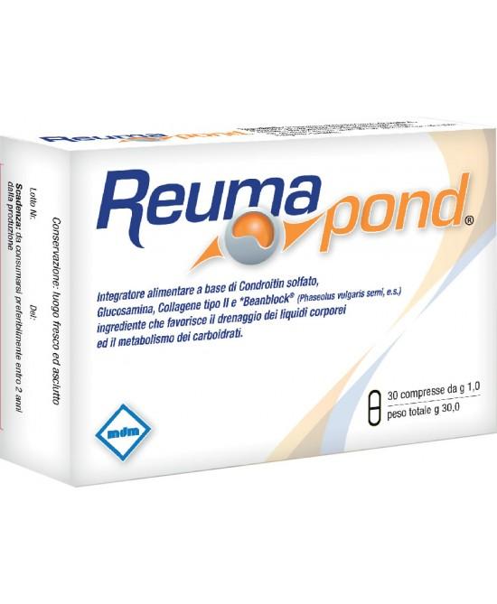 Reumapond Integratore Alimentare 30 Compresse - Farmacia Giotti