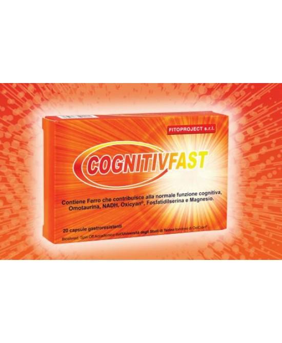 Cognitiv Fast Integratore Alimentare 20 Capsule - Farmaciaempatica.it