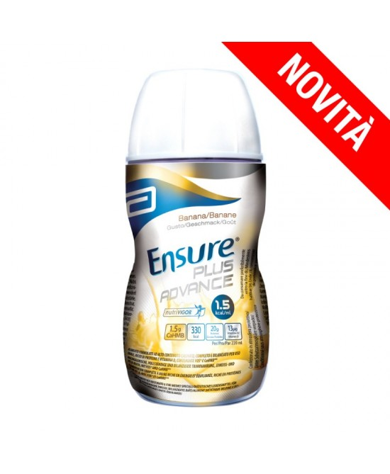 Abbott Ensure Plus Advance Gusto Banana 4x220ml - farma-store.it