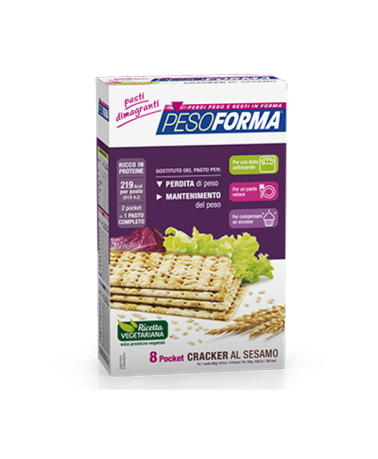 Pesoforma Cracker Sesamo 240g - FARMAPRIME