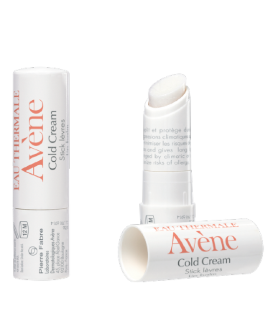 Avène Cold Cream Stick Labbra Nutriente 4g - Farmawing