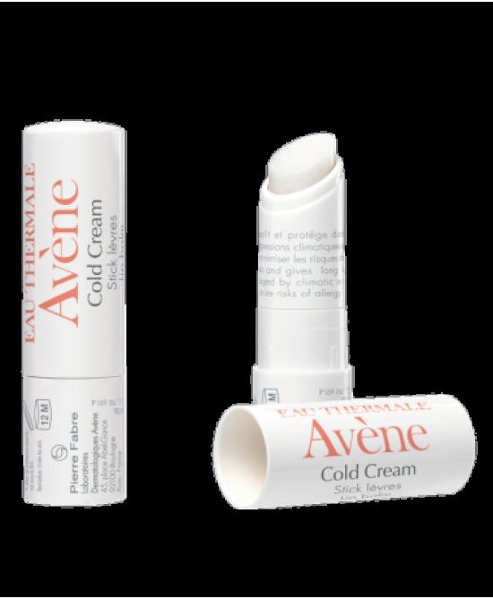 Avène Cold Cream Stick Labbra Nutriente 4g - Farmajoy