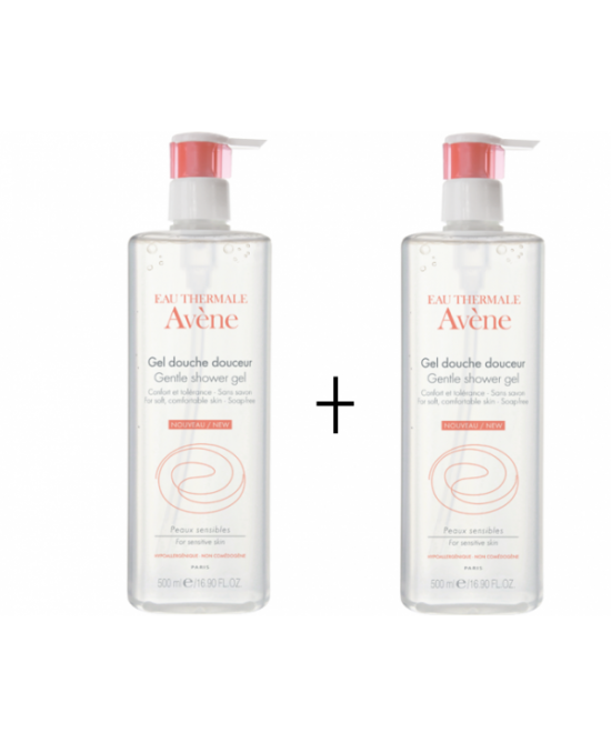 Avene Duo Gel Doccia 2x500ml - Farmawing